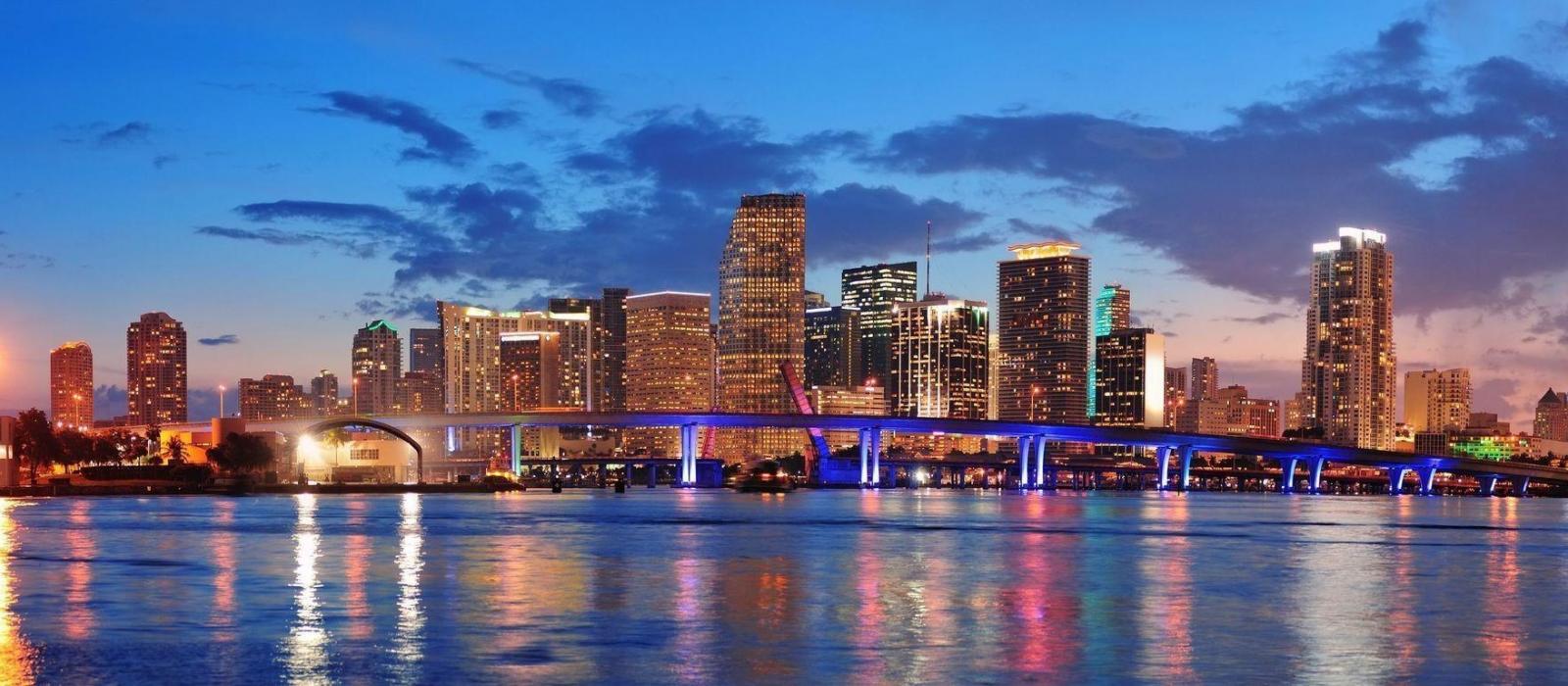 Downtown Miami Night